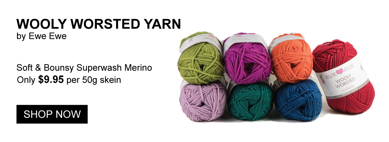Shop Wooly Worsted Yarn